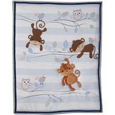 Monkey Crib Set Lambs U0026 Ivy Bedtime Originals Mod Monkey 3 Piece Crib Bedding Set