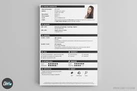 Unique Cv Templates Resume Maker Creative Resume Builder Craftcv