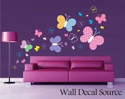 patterned butterfly wall decal vinyl butterfly wall decor zoom