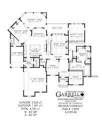 the mon chateau ii house plan house plans by garrell associates