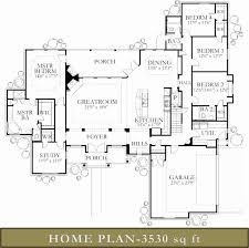 10 000 Square Foot House Plans Stylist Inspiration 3500 Sq Ft Ranch House Plans 10 Mansion Floor