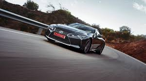 lexus sports car manual transmission 2018 lexus lc500 and lc500h review with price horsepower and