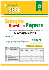 oswaal cbse sample question papers for class 11 mathematics 1st