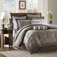 blue and brown bedrooms homes design inspiration