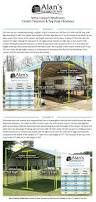 Carport Styles by Buy Rv Metal Carports To Protect Your Mobile Home Great Prices