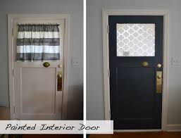 Large Interior Doors by Front Door Makeover Paint Interior Of Door A Bold Color Or Even