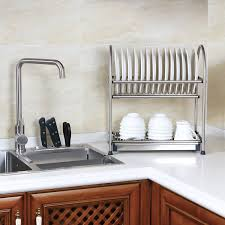 Kitchen Cabinets Plate Rack Wall Mounted Dish Drainer Home Design Ideas