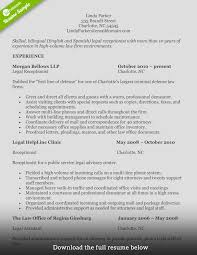 Sample Of Receptionist Resume by How To Write A Perfect Receptionist Resume Examples Included