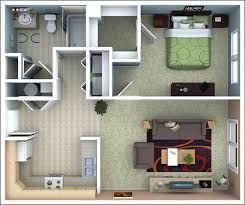 One Bedroom Apartment Designs by Richmond Apartments Floor Plans