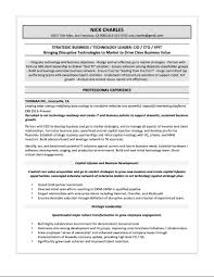 Mba Sample Resume by Samples U2014 Quantum Tech Resumes
