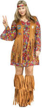 Flower Power Halloween Costume Buy Hippie Peace Love 60 U0027s Halloween Costume Dress Cappel U0027s