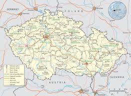 Map Of Russia And Europe by Map Of Czech Republic In Europe My Blog