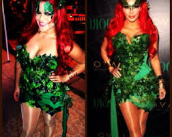 Poison Ivy Halloween Costume Kids Poison Ivy Costume Etsy