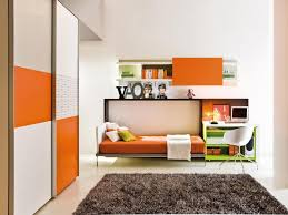 cool bedrooms design ideas for teenager showcasing wooden wall bed