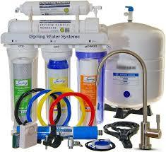 under kitchen sink water filter systems