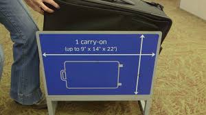 United Airline Baggage by When Carry On Luggage Isn U0027t Carry On Size Consumer Reports