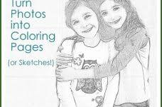 turning pictures into coloring pages convert photos to coloring pages cecilymae