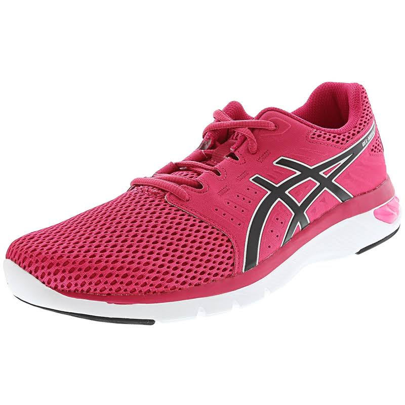 Asics Gel-Moya Bright Rose / Begonia Pink Fuchsia Red Ankle-High Running Shoe 7M