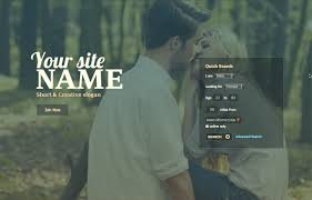 Dating Website Templates   SkaDate Dating Software and Mobile     SkaDate Gentle template  view demo