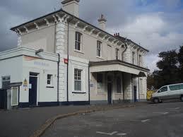 Woolston railway station