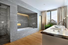 Modern Grey Bathroom Ideas Striking Interior Grey Bathrooms Design With Grey Marble Wall Tile