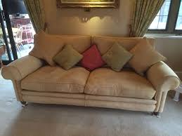 Preloved Chesterfield Sofa by Two Zoffany Tavistock Top Quality Sofas In Warwick Warwickshire
