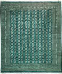 Area Rug 12 X 15 Emerald Green Silky Soft 12x15 Area Rug Weaver Signed Mori Bokhara