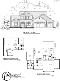 Two Story Floor Plan Two Story House Plans Master On Main 12 Nice Design Home Pattern