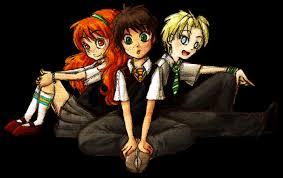 Rose, Albus y Scorpius.