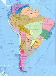 Physical Map Of South America by Map Of North America And South America Jorgeroblesforcongress A