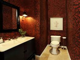 small bathroom decorating ideas bathroom ideas designs hgtv red black bathroom fixtures and decor keeping modern bathroom design