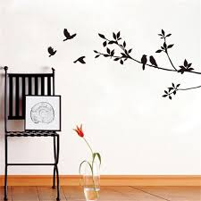 online get cheap branches wall sticker aliexpress com alibaba group diy birds on tree branches vinyl wall sticker waterproof removable home decoration bedroom decor wall art