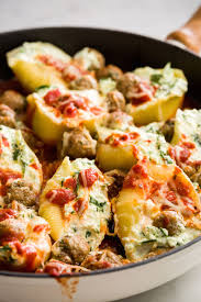 Stuffed Thanksgiving Turkey Best Stuffed Shells With Turkey Meatballs Best Stuffed Shells