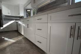 Kitchen Cabinets White Shaker Sleek White Shaker Cabinets Are Perfect For Modern Kitchen