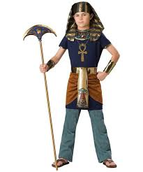 Egyptian Costumes Purecostumes Com Free Shipping Kid Boy And Egypt Pharaoh Children Cosplay