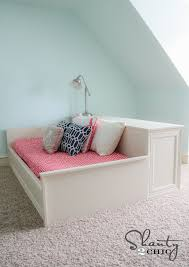 Build Diy Platform Bed by Diy Platform Dresser Bed Shanty 2 Chic