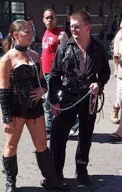folsom street slaves|File:Slave restrained to a post at Folsom Street Fair 2013.jpg