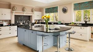 shaker kitchens from harvey jones kitchens white blue painted shaker kitchengallery