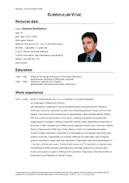 Sample CV for Restaurant Managers SlidePlayer