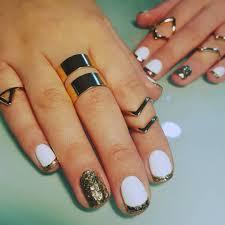 13 white gold nail designs nails nails nails nails art white