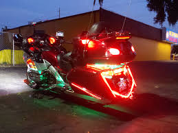 added some led lighting all the lights on the bike are now led