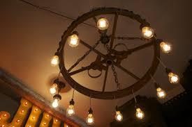 vintage farm implement wheel dinning chandelier funk u0026 junk