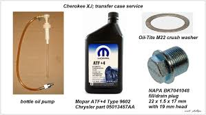 jeep cherokee xj 1984 to 2001 how to replace transfer case fluid