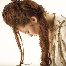 اکستنشن مو، موهای لخت،ارایش مو
