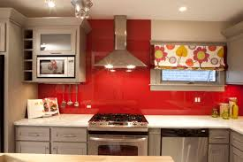 Painted Kitchen Backsplash Photos Kitchen Backsplash Orange Back Painted Glass Kitchen Backsplash