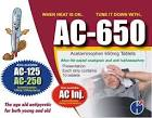acetaminophen 650