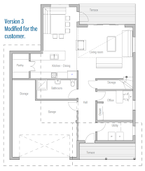 modern house ch9 construction blueprints house plan