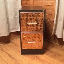 copper u0026 iron custom 2 drawer vertical file cabinet chic