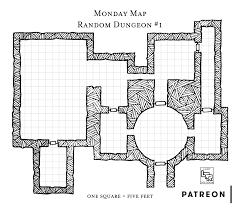 monday map u2013 random dungeon 1 u2013 loot the room