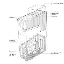 Micro Studio Plan Brooklyn Architect Creates A Tiny Retreat In His Urban Backyard
